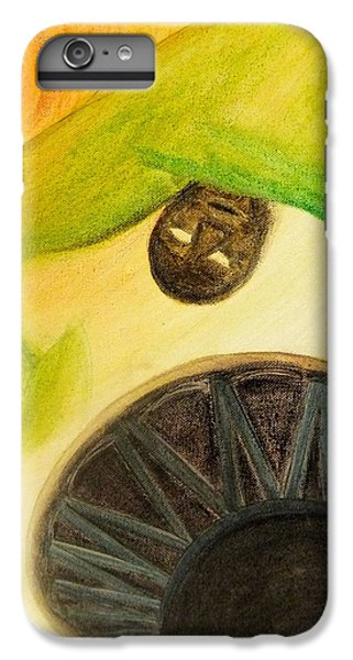 IPhone 6 Plus Case featuring the painting Djembe by Marc Philippe Joly