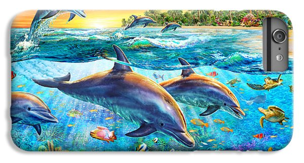 Dolphin Bay IPhone 6 Plus Case