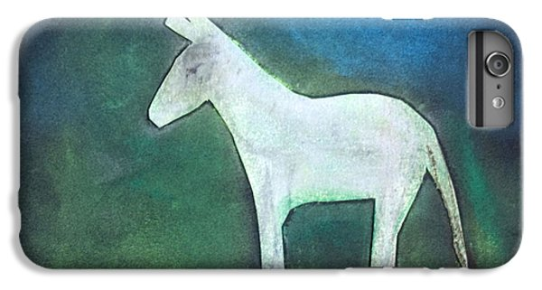 Donkey, 2011 Oil On Canvas IPhone 6 Plus Case by Roya Salari
