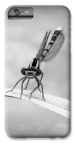 IPhone 6 Plus Case featuring the photograph Donna The Damselfly by Karen Shackles