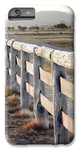 iPhone 6 Plus Case - Don't Fence Me In by Holly Kempe