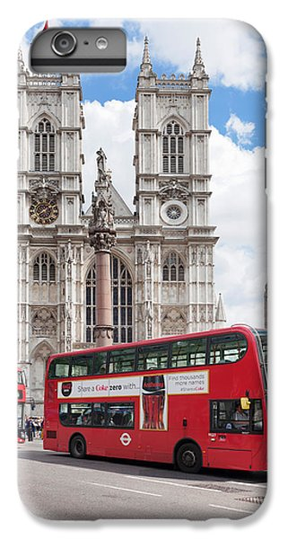 Double-decker Buses Passing IPhone 6 Plus Case by Panoramic Images