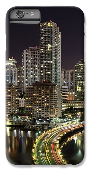 Downtown Miami From Brickell Key IPhone 6 Plus Case