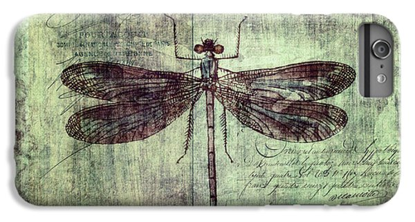 Dragonfly IPhone 6 Plus Case by Priska Wettstein