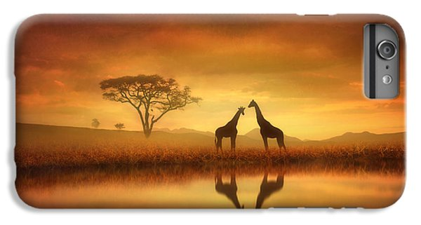 Dreaming Of Africa IPhone 6 Plus Case by Jennifer Woodward