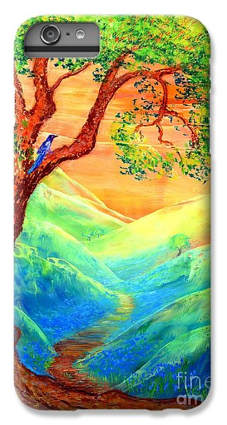 Dreaming Of Bluebells IPhone 6 Plus Case by Jane Small