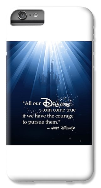 Mouse iPhone 6 Plus Case - Dreams Can Come True by Nancy Ingersoll