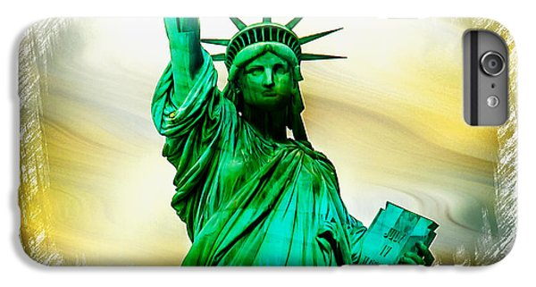 Statue Of Liberty iPhone 6 Plus Case - Dreams Of Liberation by Az Jackson