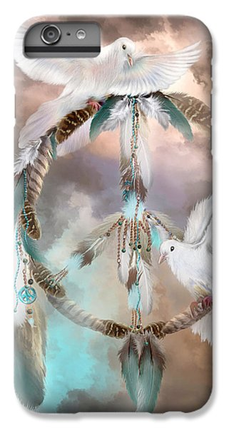 Dreams Of Peace IPhone 6 Plus Case by Carol Cavalaris