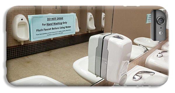 Drinking Water Warning Sign IPhone 6 Plus Case