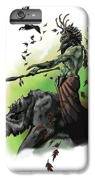 Dungeon iPhone 6 Plus Case - Druid by Matt Kedzierski