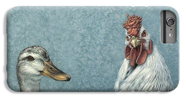 Nature iPhone 6 Plus Case - Duck Chicken by James W Johnson