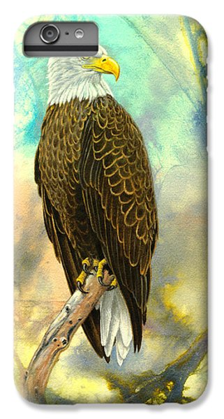 Eagle In Abstract IPhone 6 Plus Case by Paul Krapf