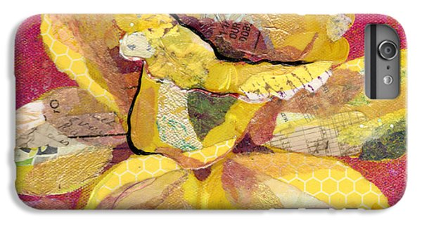 Orchid iPhone 6 Plus Case - Early Spring IIi  Daffodil Series by Shadia Derbyshire