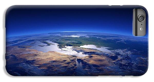 Turkey iPhone 6 Plus Case - Earth - Mediterranean Countries by Johan Swanepoel