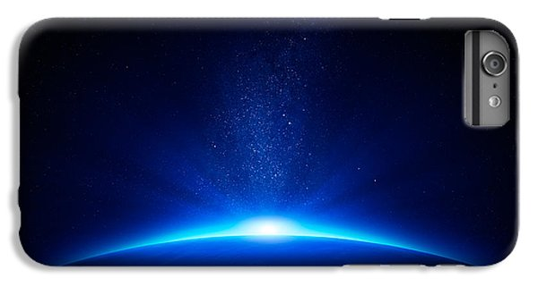 Scenic iPhone 6 Plus Case - Earth Sunrise In Space by Johan Swanepoel
