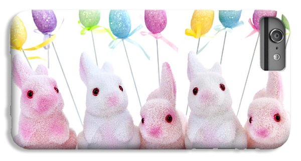 Easter Bunny Toys IPhone 6 Plus Case by Elena Elisseeva