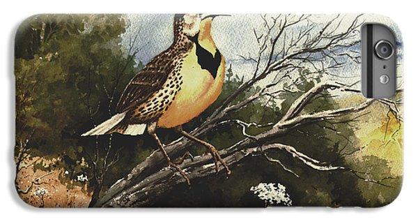 Meadowlark iPhone 6 Plus Case - Eastern Meadowlark by Sam Sidders
