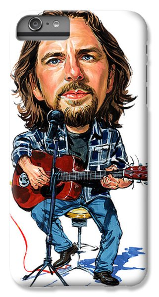 Eddie Vedder IPhone 6 Plus Case by Art