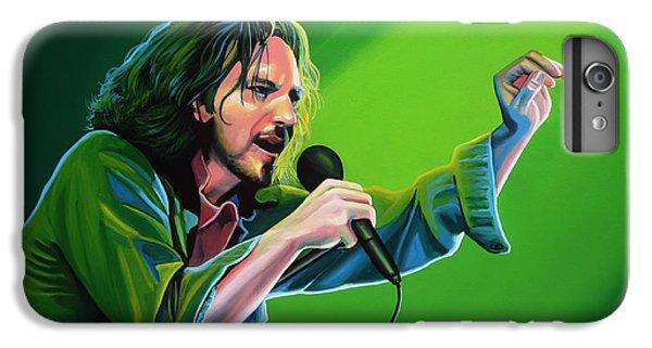 Eddie Vedder Of Pearl Jam IPhone 6 Plus Case by Paul Meijering
