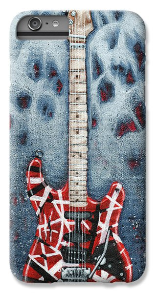 Eddie's Frankenstrat IPhone 6 Plus Case by Arturo Vilmenay