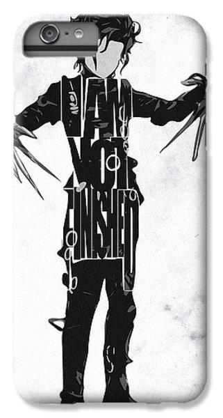 Edward Scissorhands - Johnny Depp IPhone 6 Plus Case