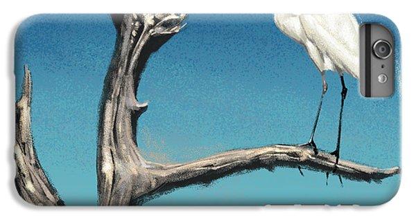 Egret iPhone 6 Plus Case - Egret by Aaron Blaise