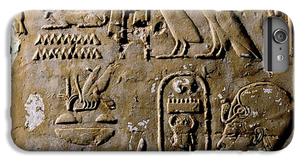 Honeybee iPhone 6 Plus Case - Egyptian Bee Hieroglyph by Thierry Berrod, Mona Lisa Production/ Science Photo Library