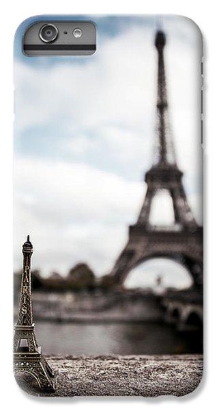 Eiffel Trinket IPhone 6 Plus Case by Ryan Wyckoff