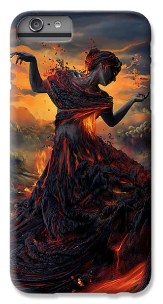 Elements - Fire IPhone 6 Plus Case by Cassiopeia Art