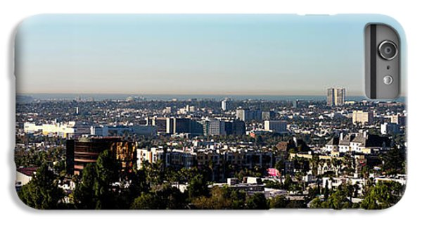 Elevated View Of City, Los Angeles IPhone 6 Plus Case by Panoramic Images