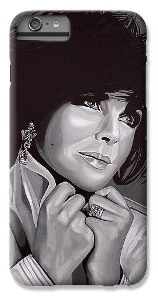 Elizabeth Taylor IPhone 6 Plus Case by Paul Meijering
