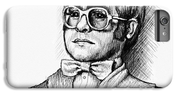 Elton John iPhone 6 Plus Case - Elton  by Cristophers Dream Artistry