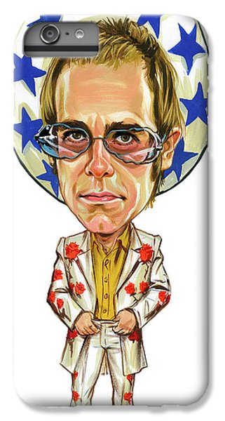 Elton John iPhone 6 Plus Case - Elton John by Art