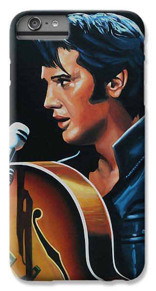 Elvis Presley 3 Painting IPhone 6 Plus Case by Paul Meijering
