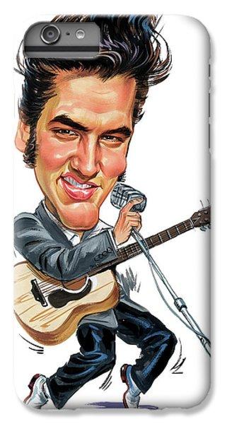 Elvis Presley IPhone 6 Plus Case by Art