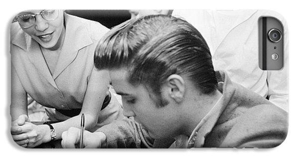 Elvis Presley Meeting Fans 1956 IPhone 6 Plus Case