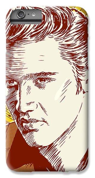 Elvis Presley Pop Art IPhone 6 Plus Case by Jim Zahniser