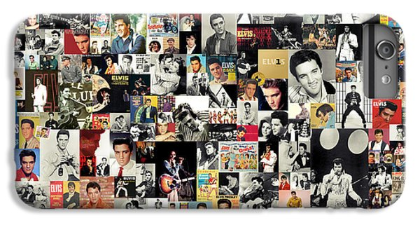 Rock And Roll iPhone 6 Plus Case - Elvis The King by Zapista