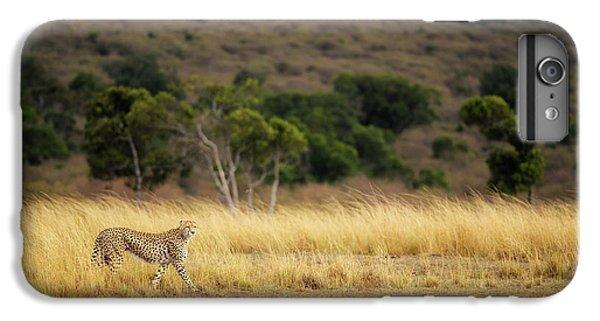 Africa iPhone 6 Plus Case - Emerging Runner by Mohammed Alnaser