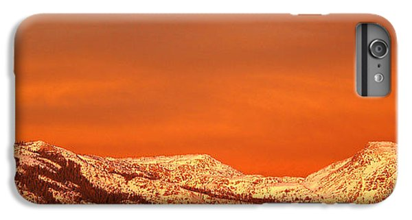 Mountain Sunset iPhone 6 Plus Case - Emigrant Gap by Bill Gallagher