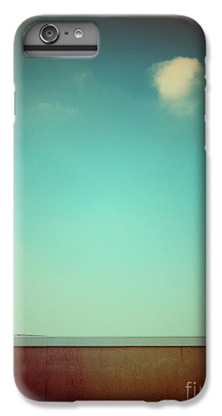 Emptiness With Wall And Cloud IPhone 6 Plus Case by Silvia Ganora