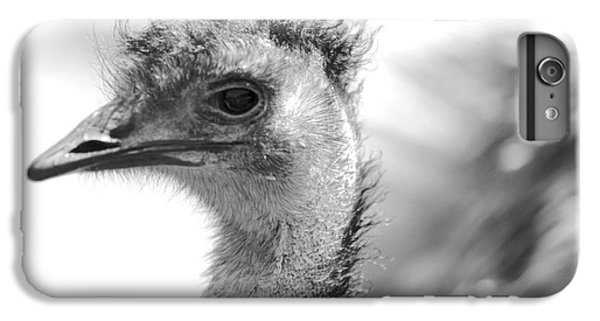 Emu - Black And White IPhone 6 Plus Case by Carol Groenen