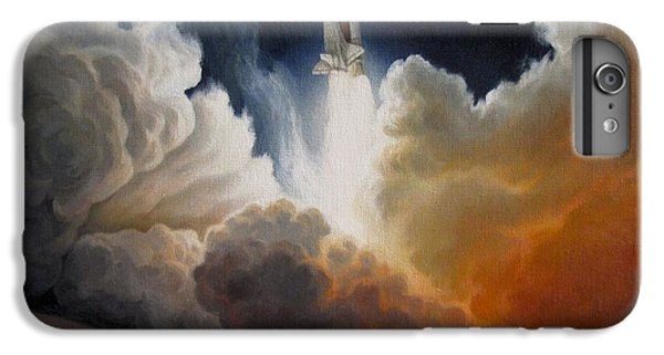 Space Ships iPhone 6 Plus Case - Endeavour by Lucy West