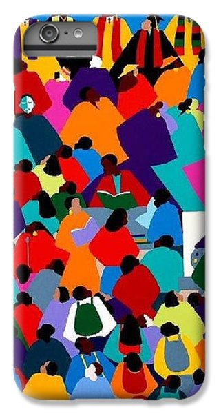iPhone 6 Plus Case - Enlightenment Asu by Synthia SAINT JAMES