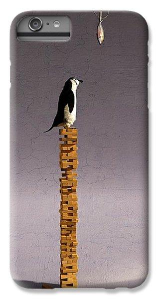 Penguin iPhone 6 Plus Case - Equilibrium V by Cynthia Decker
