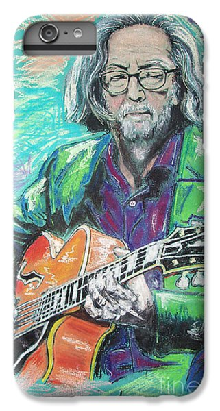 Eric Clapton IPhone 6 Plus Case by Melanie D