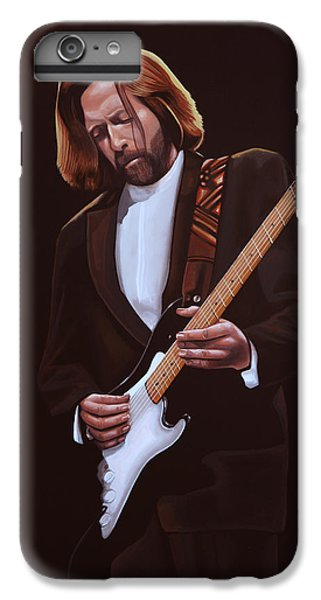 Eric Clapton Painting IPhone 6 Plus Case by Paul Meijering