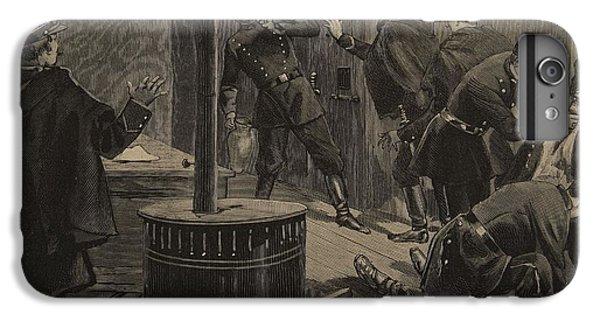 Dungeon iPhone 6 Plus Case - Etievant, The Anarchist Shoots by F.L. & Tofani, Oswaldo Meaulle