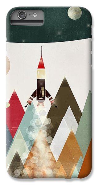 Space Ships iPhone 6 Plus Case - Explorer by Bleu Bri
